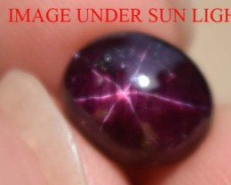 5.35 Ct Star Ruby CERTIFIED Beautiful Natural Unheated & Untreated