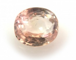 Natural Unheated Pinkish yellow sapphire|Loose Gemstone|Sri Lanka - New