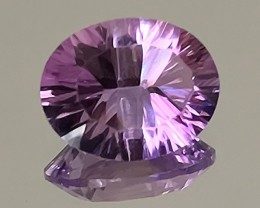 2.26ct Concave cut Violet Pink Amethyst No Reserve Auction