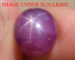 9.12 Ct Star Ruby CERTIFIED Beautiful Natural Unheated & Untreated