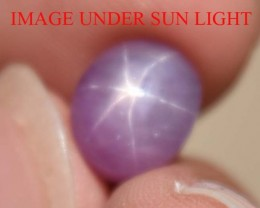 5.54 Ct Star Ruby CERTIFIED Beautiful Natural Unheated & Untreated