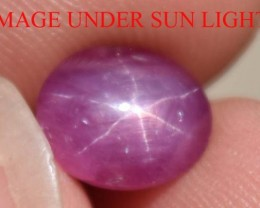 2.81 Ct Star Ruby CERTIFIED Beautiful Natural Unheated & Untreated