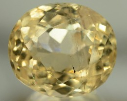 20.65 cts Huge Size Museum Grade FLAWLESS Yellow Beryl - HELIODOR Loose Gem
