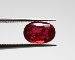 Natural Ruby - 1,05 carats - Gemstone