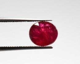 Natural Ruby - 1,29 carats - Gemstone