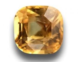 Certified Natural Yellow Sapphire Loose Gemstone Ceylon - New