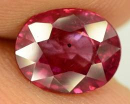 1.90 ct Natural Red Rhodolite Garnet