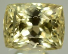21.80 ct Greenish Spodumene Gemstone
