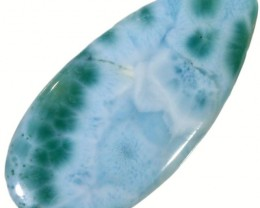 24.40 CTS  LARIMAR STONE-WELL POLISHED  [STS753]