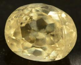 11.65 cts Huge Size Museum Grade FLAWLESS Yellow Beryl - HELIODOR Loose Gem