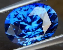 2.58cts Royal Blue Sapphire, Master Cut,, VVS1 Eye Clean, Heat Only