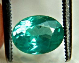 1.38 Carat Blue Apatite VS Beauty