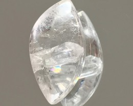 27.80ct NEGATIVE PHANTOM CRYSTAL IN QUARTZ COLLECTOR'S STONE