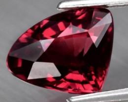 1.37ct Crimson Rhodolite Garnet NO RESERVE
