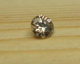 0.20 ct diamond H SI1 - Faint Brown Hue