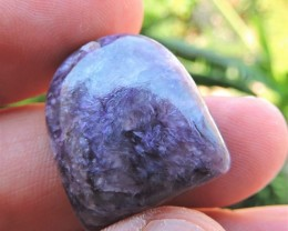 29.80ct CHAROITE FANCY CAB FROM RUSSIA