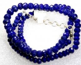 118.30CTS BLUE LAPIS BEADS STRAND  PG-2166