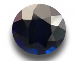 Natural Deep Royal Blue sapphire  Loose Gemstone New  Sri Lanka