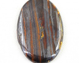 Genuine 47.50 Cts Oval Shape Iron Tiger Eye Cab