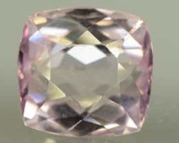 NR~ 4.20 cts Flawless Natural Peach Pink Color Kunzite Gemstone