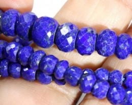 111CTS BLUE LAPIS BEADS  PG-2201