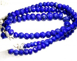 128CTS BLUE LAPIS BEADS  PG-2202