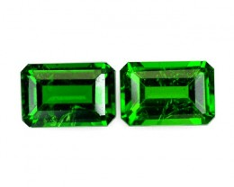 Chrome Diopside Pairs