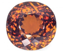 ~CERT~ 10.46 Cts Natural Pyrope-Spessartite Garnet Honey Brown Oval Africa