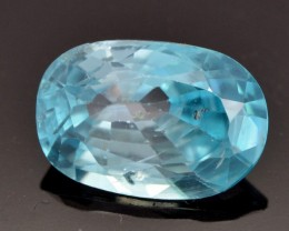 3.26cts Zircon From - Beautiful Blue (CH11)
