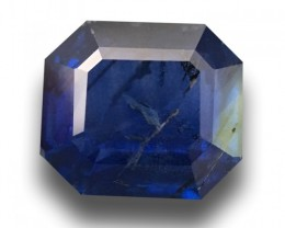 Natural Blue Blue Sapphire |Loose Gemstone|New Certified| Sri Lanka