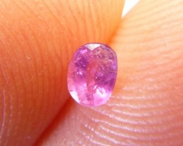 0.30cts Natural Ruby , Untreated Gemstone