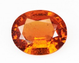 1.78 Cts Natural Mandrain Orange Spessartite Garnet Namibia