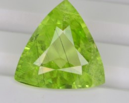 4.50 CT NATURAL BEAUTIFUL RUTILE PERIDOT GEMSTONE FROM PAKISTAN
