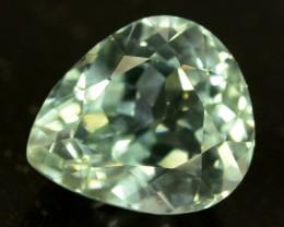 6.65 ct Greenish Spodumene Gemstone