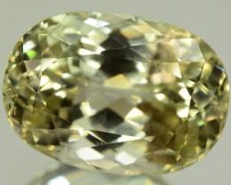 40.15 ct Greenish Spodumene Gemstone