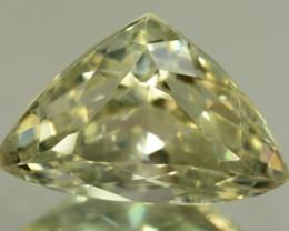 16.60 ct Greenish Spodumene Gemstone
