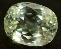 11.55 ct Greenish Spodumene Gemstone