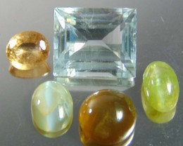 Certified Natural mixed  Gemstone  parcel deal