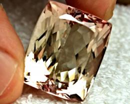 56.92 Carat VVS Pink / Gold Spodumene - Gorgeous