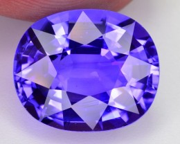 8 ct NATURAL SUPERB COLOR AND LUSTER TANZANITE GEMSTONE ~ JEWELLERY