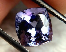 "CERTIFIED - 3.42 Carat VVS1 ""D Block"" Tanzanite - Beautiful"