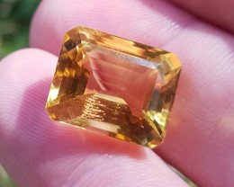 Madeira Citrine 10.45ct 14mm by 12 by 8.25mm