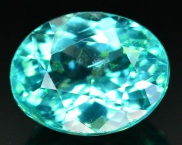 GiL Certified 1.24 ct Natural Apatite from Nigeria