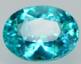 GiL Certified 1.10 ct Natural Apatite from Nigeria