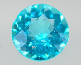 GiL Certified 0.73 ct Natural Apatite from Nigeria
