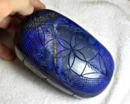 8921 Carat Collector's Lapis Lazuli Carving - Gorgeous