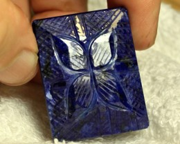 1$NR - CERTIFIED - 334.22 Carat Sapphire Carving - Cool