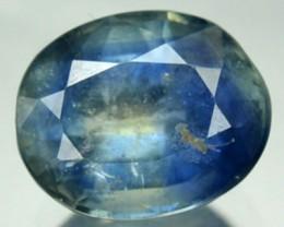 1.57 Cts Natural Corundum Blue Sapphire Oval