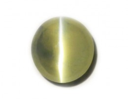 IGI Green Chrysoberyl Cat's Eye 1.16 ct Sri Lanka GPC Lab