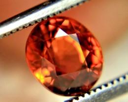 1.37 Carat Fiery Orange VVS1 Spessartite Garnet